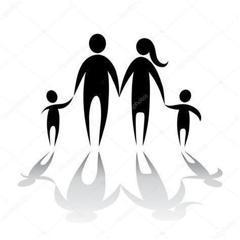 symbol familie familie symbol stockvektor 7721578