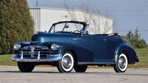 1948 Chevrolet Fleetmaster Convertible 216 Ci, 3speed