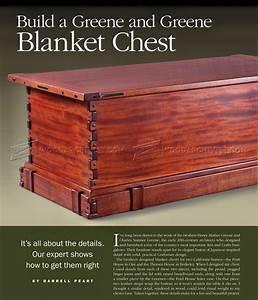 Blanket Chest Plans • WoodArchivist