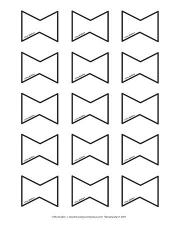 bows lesson plans  mailbox kite template kites craft bow template