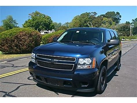 purchase   chevy tahoe ppv police pursuit vehicle