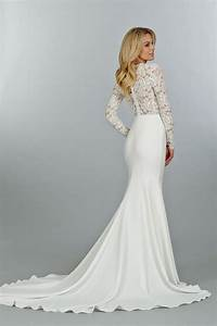 10 long sleeved wedding dresses perfect for fall or winter With long sleve wedding dress