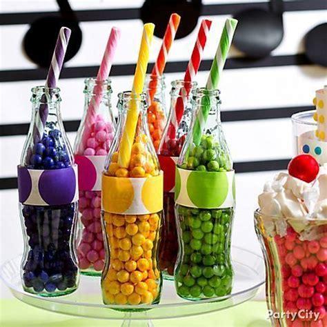 ideas divertidas para regalar dulces y fruta a los ni 241 os regalitosss centros de mesa con