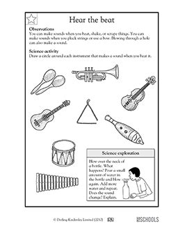 science educational songs free worksheets and sound science worksheets science alistairtheoptimist free worksheet for