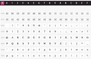 Unicode table symbols