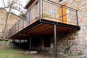 terrasse bois pilotis permis de construire nos conseils With construire terrasse bois pilotis
