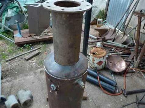 wood gas gasifier test diy youtube