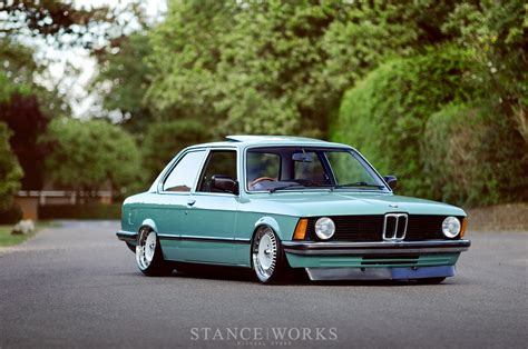 bmw 328i slammed simple beginnings ben anson s 1982 e21 stanceworks com