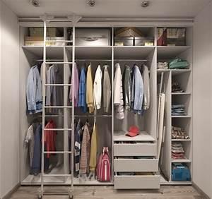 Dressing Petit Espace : dressing chambre comment bien l 39 am nager blog ~ Teatrodelosmanantiales.com Idées de Décoration