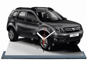 Dacia Duster Noir : dacia duster noir en horloge miniature sur socle ~ Gottalentnigeria.com Avis de Voitures