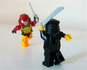 LEGO Ninja vs Samurai