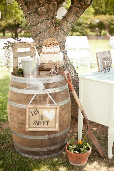 60 Rustic Country Wine Barrel Wedding Ideas Page 3 Hi