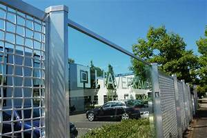 Zaun Aus Glas : durchschusshemmende glaselemente im glassicherheitszaun ~ Michelbontemps.com Haus und Dekorationen