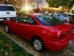 Red 1994 Acura Integra Ls 2d Coupe 107k Mls 2cyl 1 8l