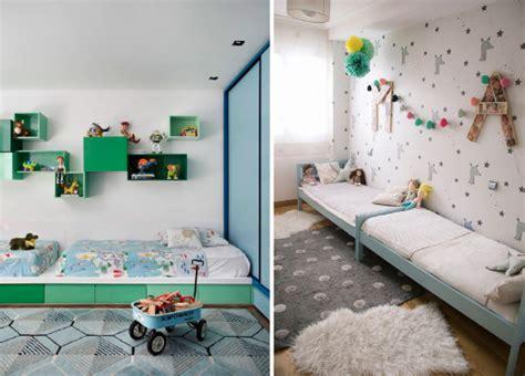 chambre lit jumeau partager une chambre d 39 enfant les lits jumeaux