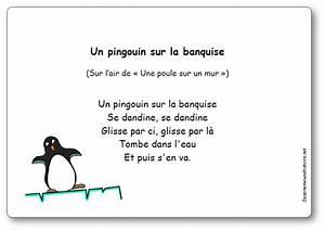 Pingouin Sur La Banquise : comptine un pingouin sur la banquise paroles illustr es imprimer un pingouin sur la ~ Melissatoandfro.com Idées de Décoration