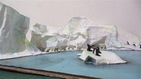 como hacer una maqueta de polo norte maquetas de ecosistema polar apexwallpapers