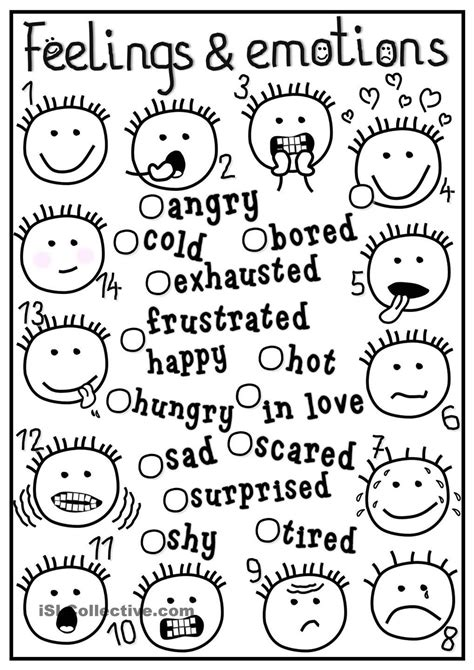feelings and emotions matching feelings emotions feelings and