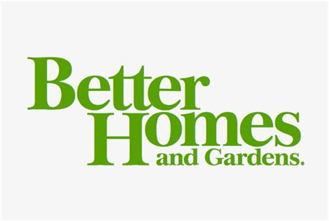 better homes and gardens logo briliant better homes and