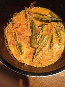 spicy okra curry recipe yummykit