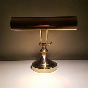 Lampe De Notaire Lampe De Notaire Banker Vert Cuivre Bronze Lampe