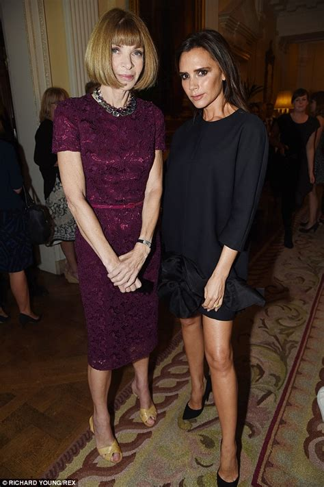 victoria beckham appearance london fashion week