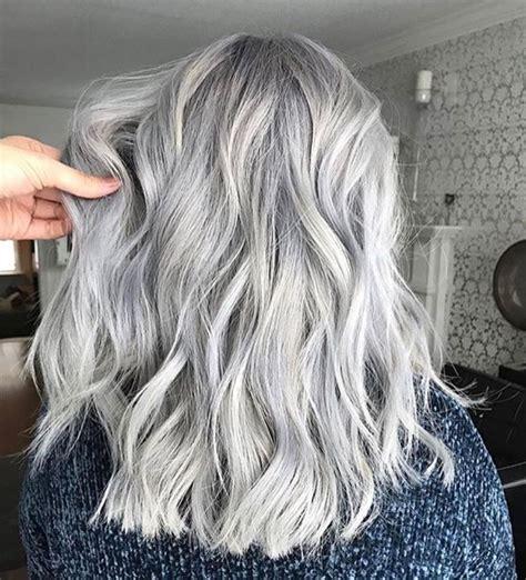 Pinterest Positividy Silver Hair Color Colored Hair