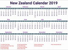 Free Template School Holidays 2019 Calendar UK, USA, QLD