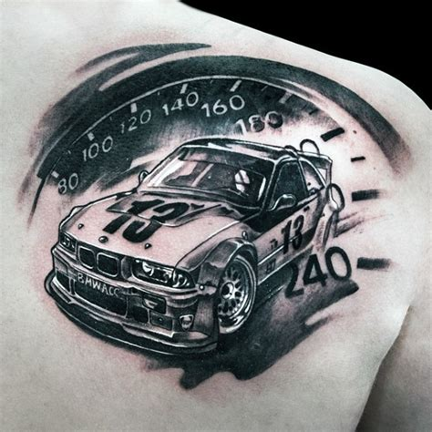 Car Tattoos Designs, Ideas And Meaning  Tattoos For You
