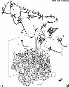 12644912 - Gm Harness  Engine Wiring  Harness  Eng Wrg At Engine