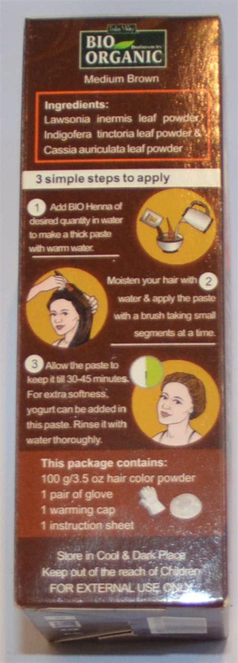 Organic Henna Hair Dye Powder On Haircuts