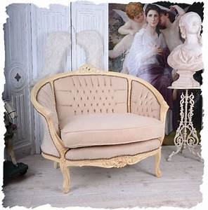 Sessel Shabby Chic : salon canap vintage boudoir shabby chic fauteuil furniture franz sisches sofa sofa sessel ~ Eleganceandgraceweddings.com Haus und Dekorationen