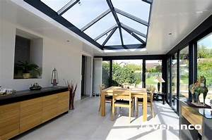 vitrages en toiture de votre veranda With toit en verre maison 4 veranda toit terrasse ma veranda