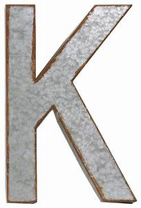 metal alphabet wall decor letter k industrial wall With metal alphabet letters for wall