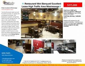 Restaurant/ Mini Banquet/ Excellent Lease High Traffic ...