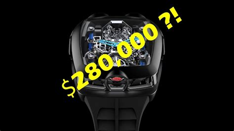 Inni er det en replica av w16 som gir liv til chiron. $280,000 Bugatti Chiron Watch -- Jacob & Co x Bugatti ...