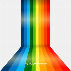 Rainbow lines background Vector | Free Download