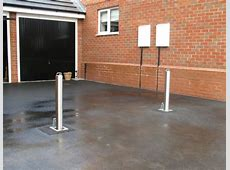 Domestic Stainless Steel installation UK Security Bollards