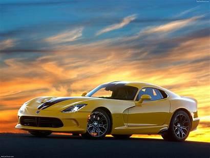 Viper Dodge Srt Wallpapers Cars Ta Yellow