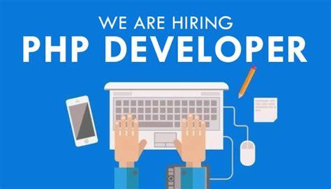 hiring php developers job web developer jobs
