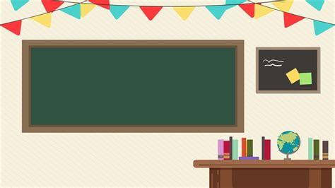 background animasi ruang kelas hd  keren