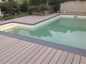 Margelle Piscine Grise : terrasses composites quelques creations 2016 le blog ~ Melissatoandfro.com Idées de Décoration