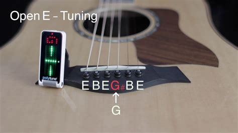 How To Tune Your Guitar To Open E