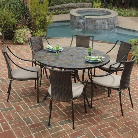 Patio Tables On Sale by Beautiful Glass Top Patio Dining Table Furniture Modern