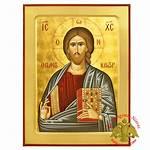 Nioras Icon Byzantine Pantokrator Wooden Icons Orthodox