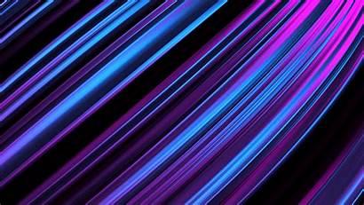Stripes Lines Obliquely Purple Glow 4k Background