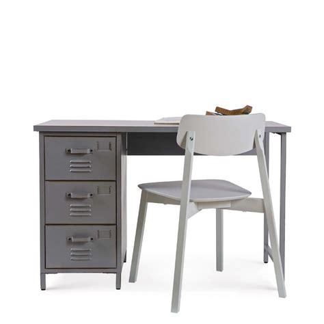 tiroirs bureau bureau 3 tiroirs métal maxim par drawer