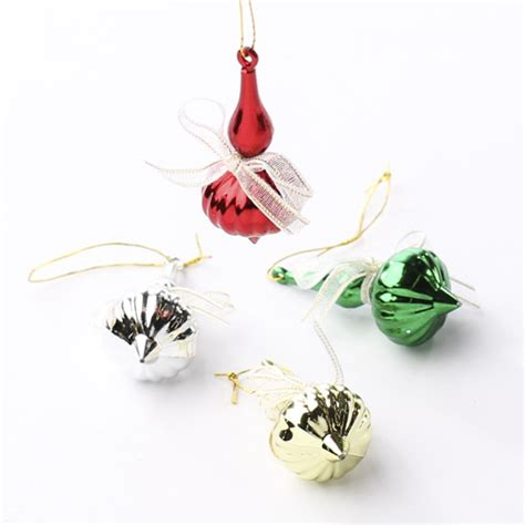 miniature onion drop christmas ornaments christmas miniatures christmas and winter holiday