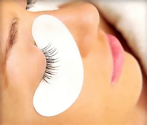 protect  beautiful eyes   eye pads  eyelash extensions curved  eyelash