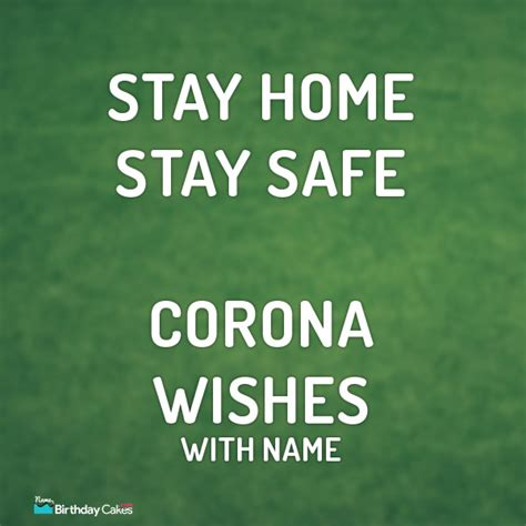 stay safe wishes    corona pandemic